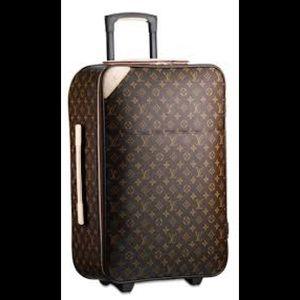 Authentic Louis Vuitton Luggage Carey Bag